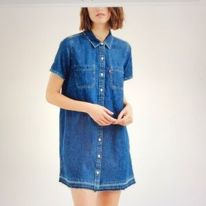 Levi's Women's Andie Jean Shirt Dress